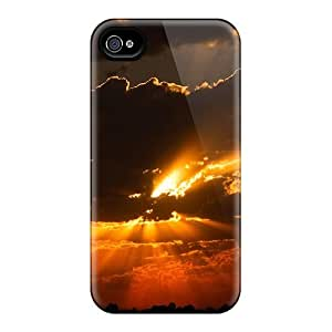 BeverlyVargo Cases Covers For Iphone 6 - Retailer Packaging Dark Cloudy Sunset Protective Cases