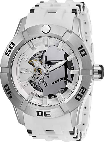 (Invicta Star Wars Automatic White Dial Men's Watch)