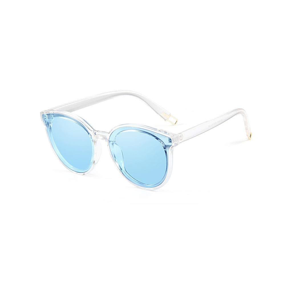 bluee RJTYJ Polarized Sunglasses Ladies, PC Lenses Support Myopia Sunglasses, Net Weight 30 Grams (color   Black)