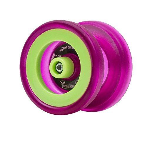 YoYoFactory Grind Machine Unresponsive YoYo ( Color : Purple and Green ) by YoYoFactory