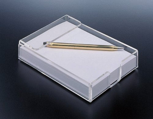 Note Pad Holder Acrylic Design Acrylic Notepad