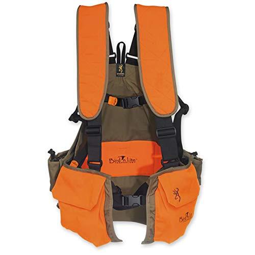 Browning Bird'n Lite Strap Vest, Khaki/Blaze, X-Large - XX-Large ()