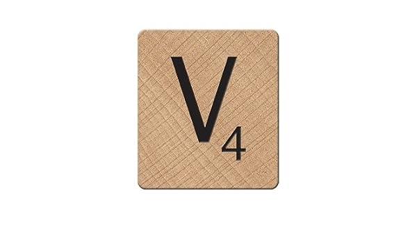 Scrabble V imán, Color Blanco: Amazon.es: Hogar