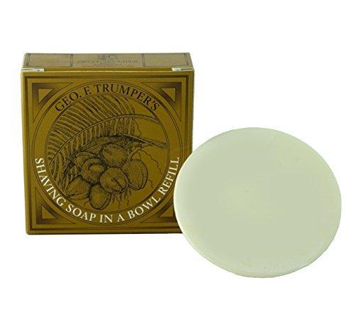 (Geo F. Trumper Hard Shaving Soap Refill Coconut Oil)