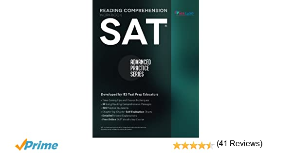 SAT Reading Comprehension Workbook: Advanced Practice Series ...