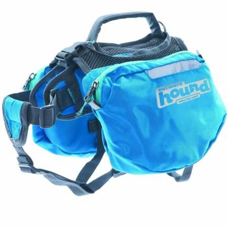 Outward Hound Quick Release Dog Backpack Blue Large_DX