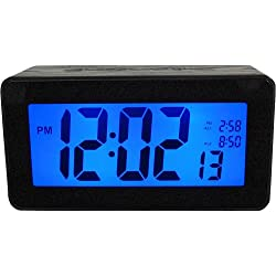 Advance Time 6200AT Touch-Activated LCD Alarm Clock