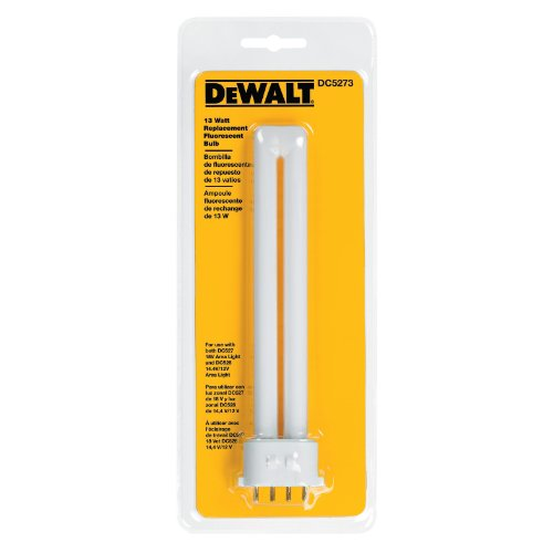 DEWALT DC5273 13-Watt Fluorescent Replacement Bulb for DC527 and DC528