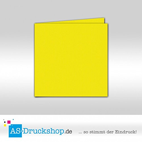 Faltkarte Doppelkarte - Maigrün 100 Stück Quadratisch 157 x 157 mm B07952LLQJ | Internationale Wahl