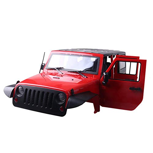1/10 Scale Rc Truck Body Shell for 313mm Wheelbase Jeep Wrangler Rubicon Scx10 Rc4wd D90 D110 Car Shell Kit
