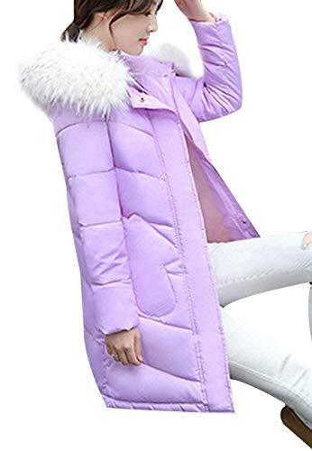 Blouson Hiver Moderne Femme Éclair Unie Manteau Poches Casual Fermeture A Style Doudoune Chic Mode Transition De Rose Bouton Couleur Avec Quilting Capuche Battercake Gaine Avant qFYwdInTI