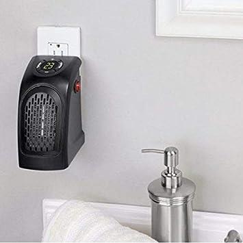 Termoventilador 350 W Mini Pocket Heater Estufa Calentador Baño caldobagno: Amazon.es: Electrónica