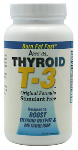 Absolute Nutrition Thyroid T3, 60-Count - Buy Online in ...