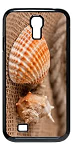 Seahorse Colorful HD image case for Samsung Galaxy S4 I9500 black + Card Sticker