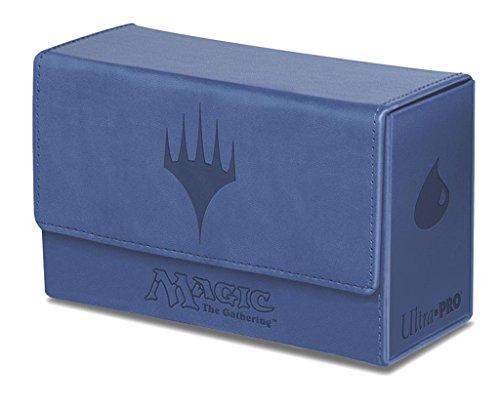 Ultra Pro Dual Flip Box Blue Mana for Magic (Matte Finish)