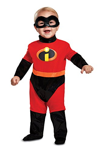 Disguise Baby Incredibles Infant Classic Costume, red,