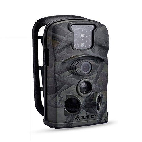 12MP HD Hidden Hunting Scouting Trail Game Camera Surveillance Camera Outdoor Waterproof 120 Wide Angle Lens with IR Night Vision