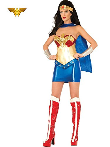 DC Comics Wonder Woman Classic Deluxe Costume, Multi, Small