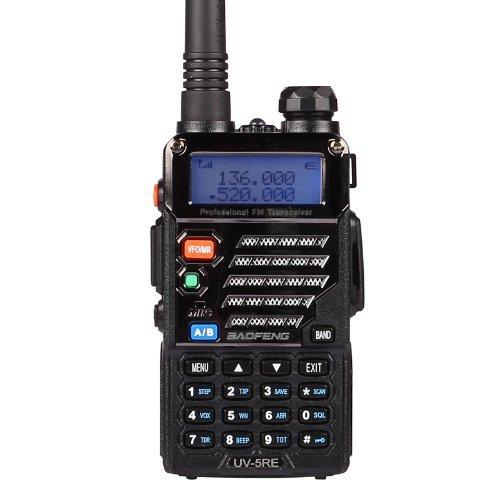 54 opinioni per Baofeng UV-5RE Dual Band UHF / VHF radio bidirezionale con auricolare