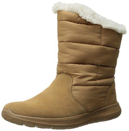Skechers Rendimiento Go Walk Ciudad Winter Boot Chestnut