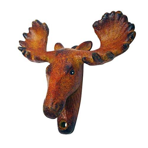 (Design Toscano Moose Tracks Cast Iron Bottle Opener)