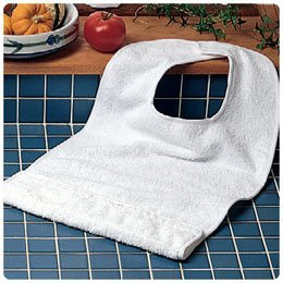 Terry-Cloth Food Catcher - Model 1385