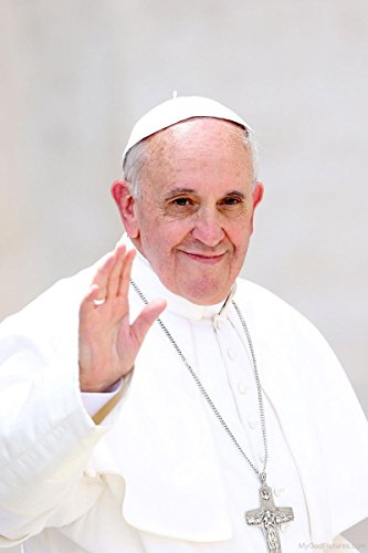 (Gifts Delight Laminated 14x22 Poster: Smiling Face of Pope Francis - God Pictures)