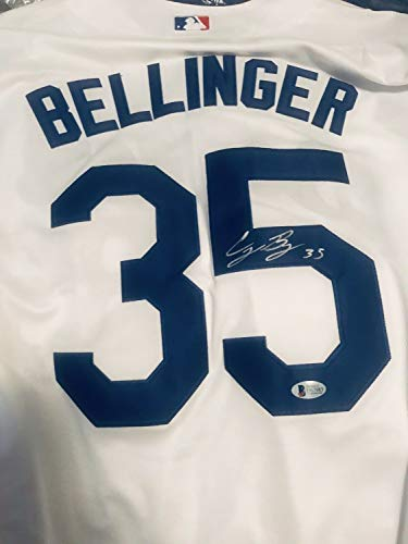 Cody Bellinger Autographed Signed 2017 World Series Jersey Dodgers Autograph Beckett Authentic COA from Sports Collectibles Online