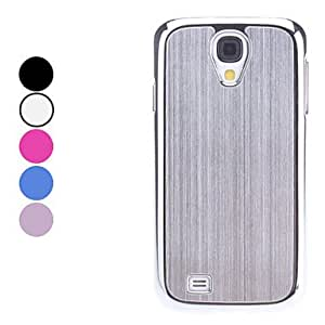JAJAY-ships in 48 hours Solid Color Hard Case for Samsung Galaxy S4 I9500 (Assorted Colors) , Black
