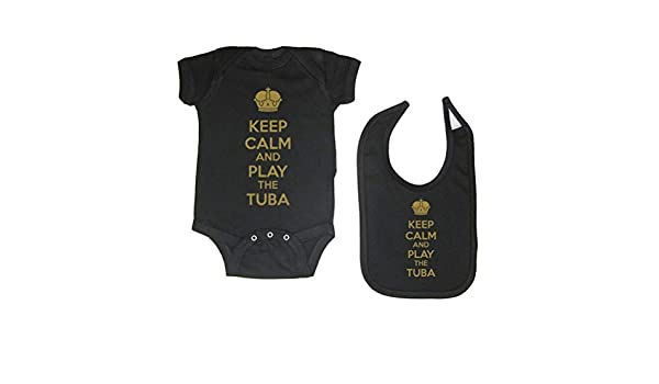 Smooffly Babys Girl Boy Tuba Outline Long-Sleeve Climbing Bodysuits Playsuit