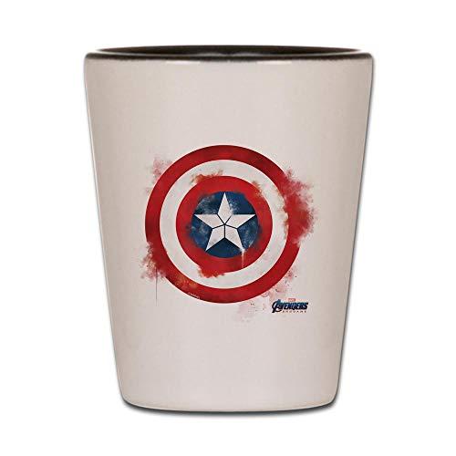 CafePress Captain America Shot Glass, Unique and Funny Shot -