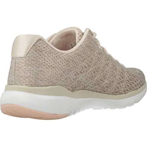 Skechers 0 nat Clair Appeal 3 Brun Baskets Femme Flex satellites rAw6tgrx
