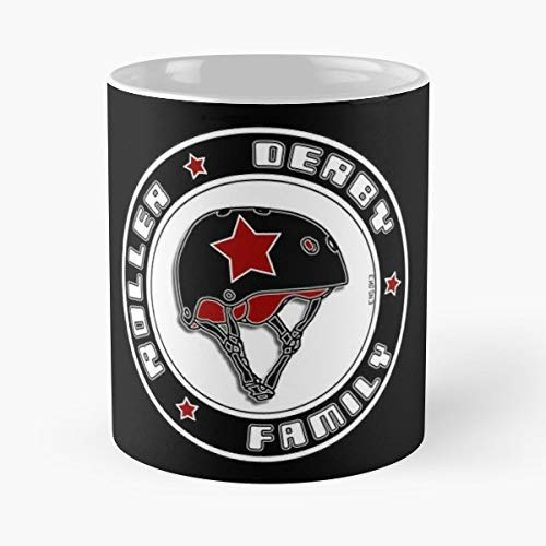 Roller Derby Family Helmet - Funny Gifts For Men And Women Gift Coffee Mug Tea Cup White 11 Oz.the Best - Flatware Derby