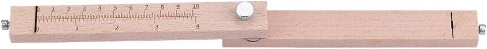 Sutinna Leder-G/ürtelschneider DIY-Lederprodukt Lederhandwerkszubeh/ör Lederhandwerkszubeh/ör DIY-Kunsthandwerk Holz-Leder-G/ürtelschneider