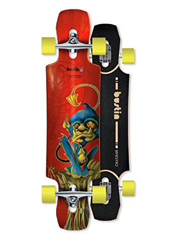 Bustin Longboards Mini Maestro 34 Monkey Graphic, 1211000343