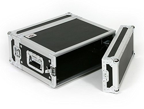 Industrial Shock Mount Rack - OSP Cases | ATA Road Case | 4-Space Effects Rack | 14