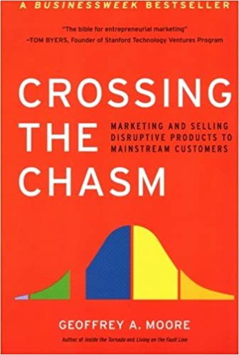 Book Title - Crossing the Chasm: Marketing and Selling High-Tech Products to Mainstream Customers