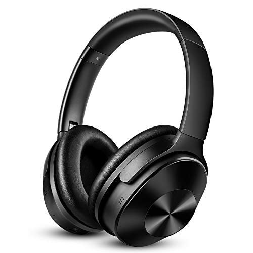 OneOdio Noise Cancelling Kopfhörer Bluetooth Drahtlose Over Ear Headphones – mit 30dB Hybrid Aktiver…