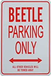 BEETLE Parking Only Sign - Mini Signs ideal for the VW enthusiast
