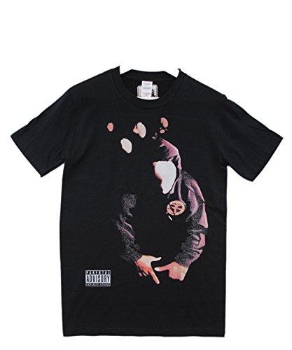 Cou Wu À Actual shirt Clan Capuche Col Masque Du Tang Fact Pull Noir Ras T BTTqw74x