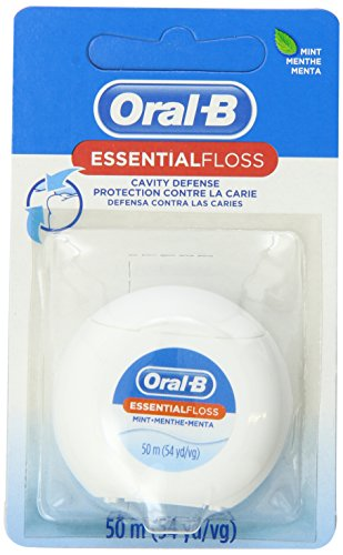 Oral-B Essential Floss Mint Waxed 54 Yd (в упаковке 24)