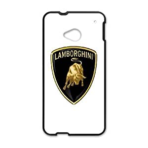 HTC One M7 case, Lamborghini-Logo Cell phone case for HTC One M7 -PPAW8668912