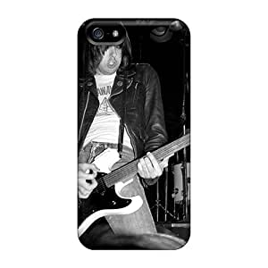 Shock Absorption Cell-phone Hard Covers For Apple Iphone 5/5s (CPk327RIWz) Support Personal Customs Nice Ramones Band Skin