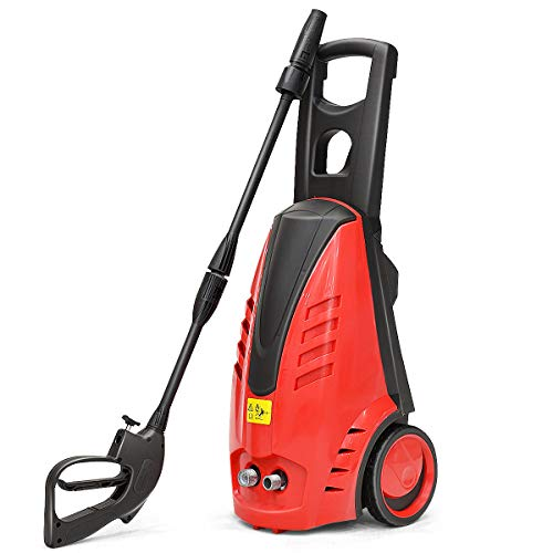 Goplus Electric Pressure Washer 2030PSI, 1.76GPM High Pressure Power Jet Sprayer Premium Strong Motor Cleaner Machine w/Soap Container for Car, Motorcycle, Bicycle, Patio