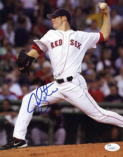 Autographed Jon Lester Photo - COA 8x10 Authentic - JSA Certified - Autographed MLB ()