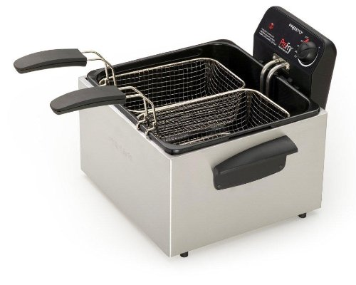 Presto 05466 Stainless Steel Dual Basket Pro Fry