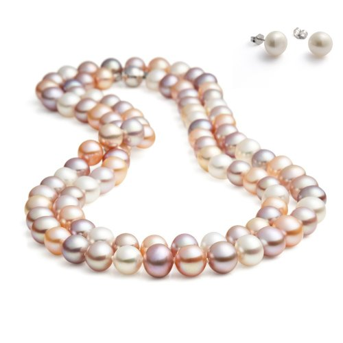 rolicia-65inches-165cm-freshwater-cultured-pearl-necklace-earrings-gift-box-multicolor