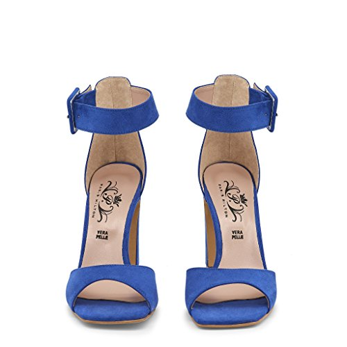Paris Hilton 1515 Sandals Women Blue 41 nCqOY3tk