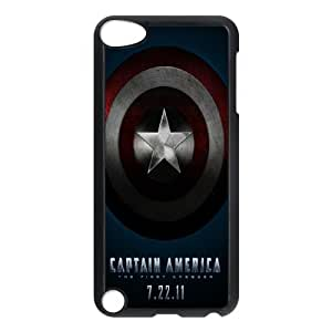 Captain America Shield (2D) Silicone Case for Ipod Touch 5 Phone Case ATR071641
