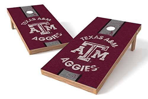 (Wild Sports 2'x4' NCAA College Texas A&M Aggies  Cornhole Set - Heritage Design)
